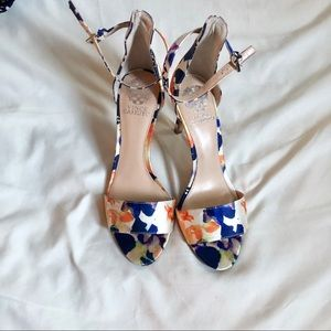 Vince Camuto Floral 'Court' Heels